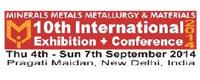 2014年印度冶金、矿物、金属、及材料展——MMMM2014