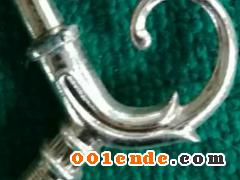 锌合金压铸件(小凤尾花灯式)